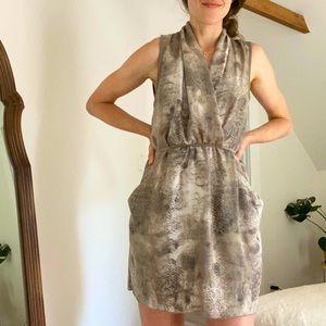Wilfred Sabine Dress | Snake Print | Medium